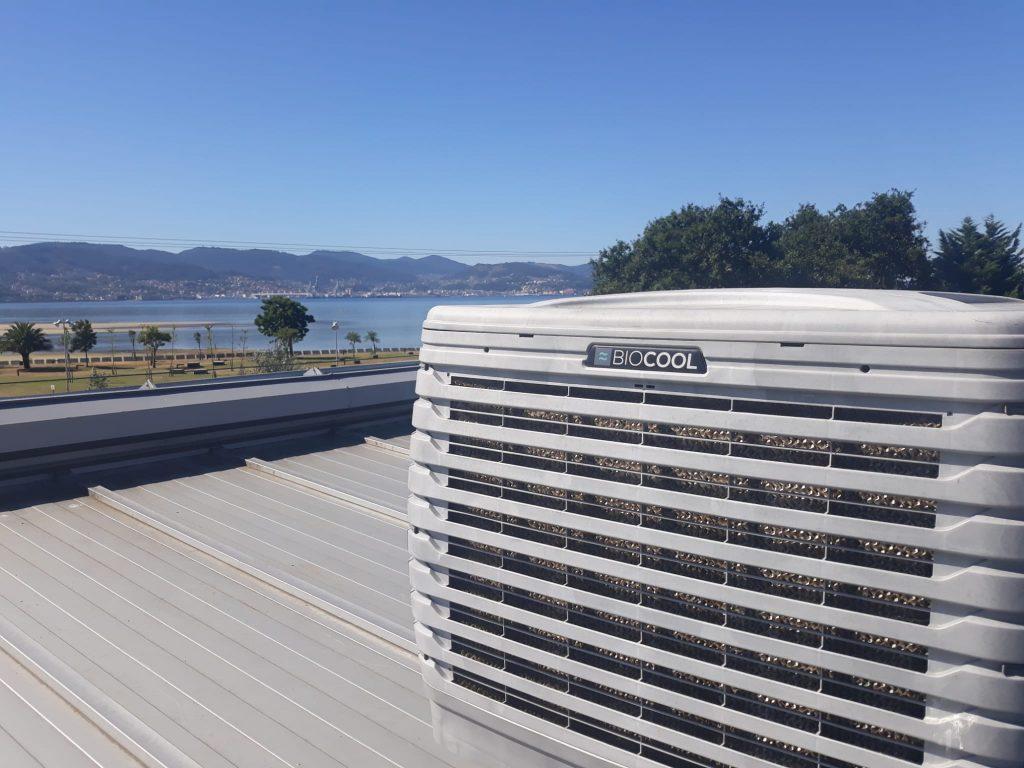 Biocool en la ria de Vigo